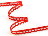 Bobbin lace No. 75397 red | 30 m