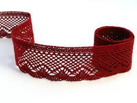 Bobbin lace No. 75414 red bilberry   30 m