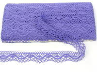 Bobbin lace No. 75416 purple II. | 30 m