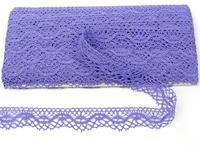 Paličkovaná krajka vzor 75416 purpurová II. | 30 m