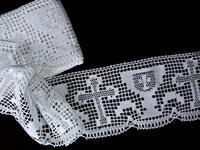Bobbin lace No.75446 white | 30 m