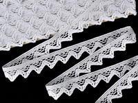 Bobbin lace No. 75469 white | 30 m