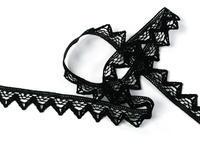 Bobbin lace No. 75469 black | 30 m