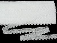 Bobbin lace No. 75517 white | 30 m