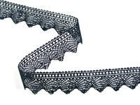Bobbin lace No. 75518 black | 30 m