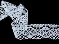 Bobbin lace No. 75572 white | 30 m