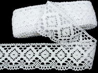 Bobbin lace No. 75608 white | 30 m