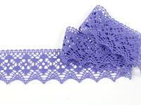 Paličkovaná krajka vzor 75625 purpurová II. | 30 m