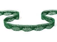 Bobbin lace No. 75629 dark green | 30 m