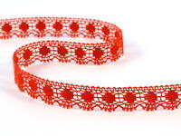 Bobbin lace No. 81014 red | 30 m
