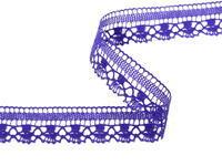 Paličkovaná krajka vzor 81017 purpurová | 30 m
