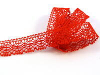 Bobbin lace No. 81032 red | 30 m