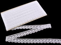 Bobbin lace No. 81041 white | 30 m