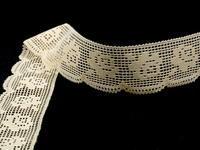 Bobbin lace No. 81076 ecru | 30 m