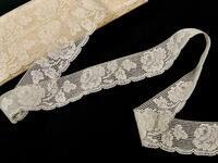 Bobbin lace No. 81094 ecru | 30 m