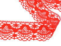 Bobbin lace No. 81289 red | 30 m