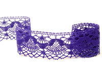 Bobbin lace No. 81289 purple | 30 m