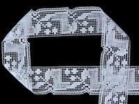 Bobbin lace No. 81412 white | 30 m