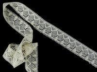 Bobbin lace No. 81482 ecru | 30 m