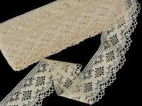 Bobbin lace No. 81669 ecru | 30 m