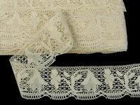 Bobbin lace No. 81677 ecru | 30 m