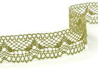 Bobbin lace No. 81847 khaki | 30 m
