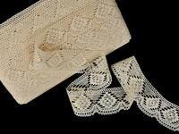 Bobbin lace No. 81963 ecru | 30 m