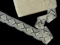 Bobbin lace No. 81965 ecru | 30 m