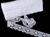 Bobbin lace No. 82107 white | 30 m