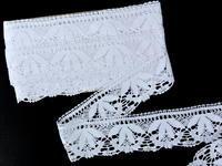 Bobbin lace No. 82110 white | 30 m