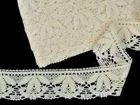 Bobbin lace No. 82110 ecru | 30 m
