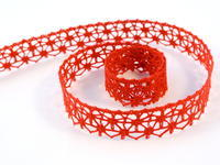 Bobbin lace No. 82119 light red | 30 m