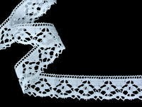Bobibn lace No. 82168 white | 30 m