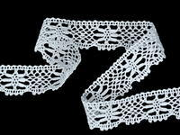 Bobbin lace No. 82211 white | 30 m
