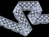 Bobbin lace No. 82220 white | 30 m