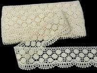 Bobbin lace No. 82220 ecru | 30 m