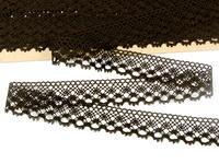 Bobbin lace No. 82222 dark brown | 30 m