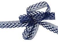 Bobbin lace No. 82222  dark blue | 30 m
