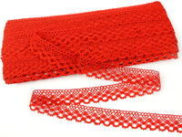 Bobbin lace No. 82222 red | 30 m