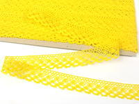 Bobbin lace No. 82222 yellow | 30 m