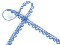 Bobbi lace No. 82226 sky blue | 30 m