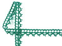 Bobbi lace No. 82226 light green | 30 m