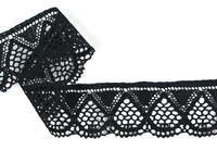 Bobbin lace No. 82283 black | 30m
