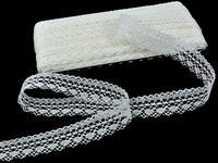 Bobbin lace No. 82303 bleached linen | 30 m