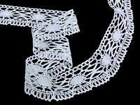 Bobbin lace No. 82335 white | 30 m