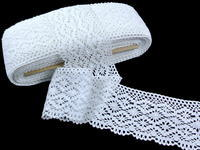 Bobbin lace No.82336 white | 30 m