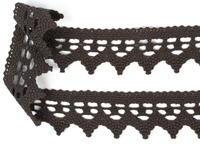 Bobbin lace No. 82341 drak brown | 30 m