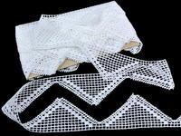 Bobbin lace No. 82350 white | 30 m
