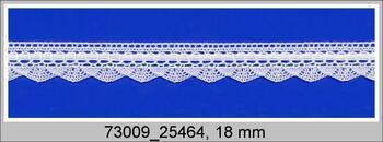 krajka 73009 (bílá/bílá stuha)
