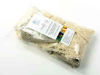 Hobby bag - bobbin laces ecru   200 g - 1